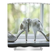 Wedding Shoes Shower Curtain