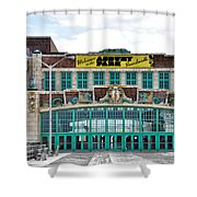 Welcome To The Asbury Park Boardwalk Shower Curtain