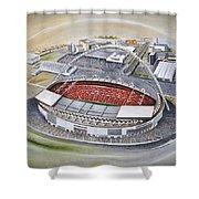 Wembley Stadium Shower Curtain