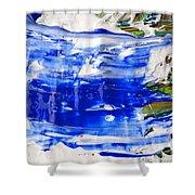 Wet Paint 54 Shower Curtain