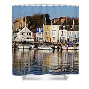 Weymouth In The Water Shower Curtain