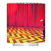 Where Were From The Birds Sing A Pretty Song Shower Curtain
