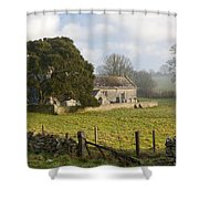 Whitcombe Church Shower Curtain