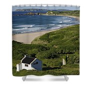 White Park Bay, Ireland Shower Curtain