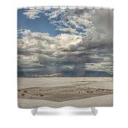 White Sands Rain Shower Curtain