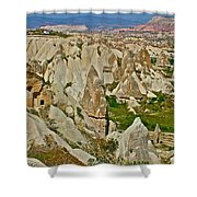 Who Lives Here In Cappadocia-turkey  Shower Curtain