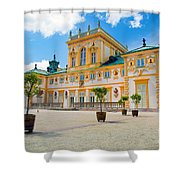 Wilanow Palace In Warsaw Poland Shower Curtain