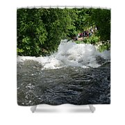 Wild Water Shower Curtain
