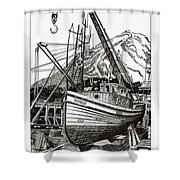 Will Fish Again Another Day Shower Curtain