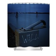 1 Will Of The Hudson 2 Shower Curtain