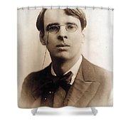 William Butler Yeats (1865-1939) Shower Curtain