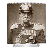 William I Of Prussia (1797-1888) Shower Curtain
