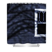 Window And Shadows Shower Curtain