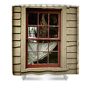 Window - Glimpse Into The Past Shower Curtain