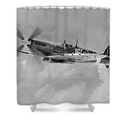 Wing Commander Johnnie Johnson Shower Curtain