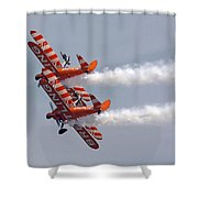 Wing Walkers  Shower Curtain