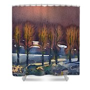 Winter Fantasy Shower Curtain