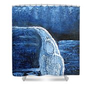 Winter Goddess Shower Curtain