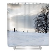 Winter Landscapes Shower Curtain