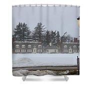 Winters Light Shower Curtain
