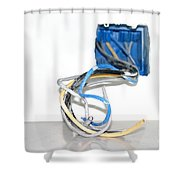 Wire Box Shower Curtain