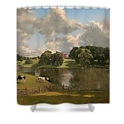 Wivenhoe Park Shower Curtain