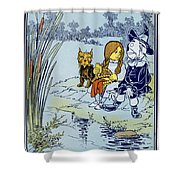 Wizard Of Oz, 1900 Shower Curtain