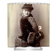 Women's Fashion, 1890 Shower Curtain
