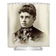 Women's Fashion, C1880 Shower Curtain
