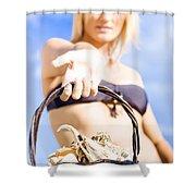Wonders Of The Ocean Shower Curtain