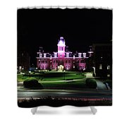 Woodburn Hall At Night Shower Curtain