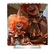 World Famous Clown From 1936 Shower Curtain