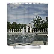 World War 2 Memorial Shower Curtain