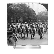 Wwi Moroccan Troops Shower Curtain