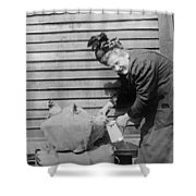 Wwi Refugee, 1918 Shower Curtain