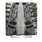 X-37b Orbital Test Vehicle Shower Curtain