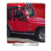 Xtreme Jeep Shower Curtain