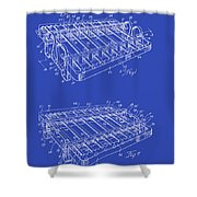 Xylophone Patent 1949 Shower Curtain