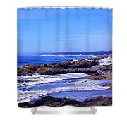 Yachats Oregon 2013 Shower Curtain