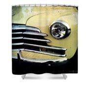 Yellow Chevrolet Shower Curtain