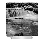 Yellow Creek Falls Great Smoky Mountains Shower Curtain