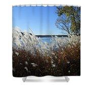 Yellowstone Lake Shower Curtain
