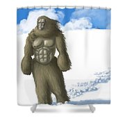 Yeti Shower Curtain