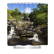 Yorkshire Dales Waterfall Shower Curtain