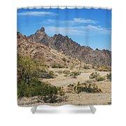 Yuma Desert Shower Curtain
