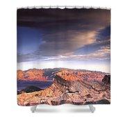Zabriskie Point Death Valley Shower Curtain