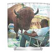 Zsup Shower Curtain