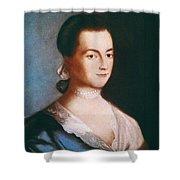 Abigail Adams (1744-1818) Shower Curtain