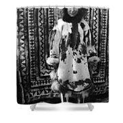 Alaska Eskimo Woman Shower Curtain