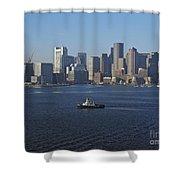 Boston Harbor  Shower Curtain
